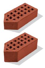 Кирпич фасонный угловой одинарный/утолщенный