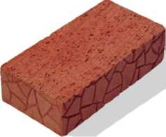 Кирпич керамический полнотелый одинарный