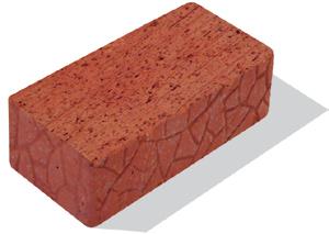 Кирпич керамический полнотелый утолщённый