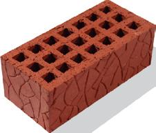 Кирпич керамический пустотелый утолщенный