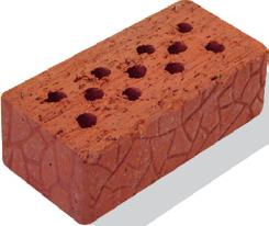 Кирпич керамический трубный утолщенный