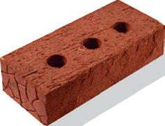 Кирпич фасадный красный