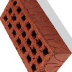 Кирпич ревдинский с рифленой поверхностью
