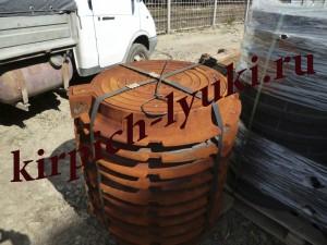 Люк чугунный канализационный тяжелый ГОСТ 3634-89
