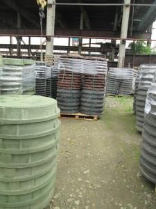 Произведена отгрузка полимерно-композитнные люки в город Березовский
