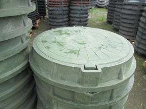 Произведена отгрузка пластиковых люков в город Грозный.